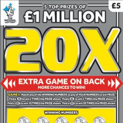 New National Lottery Scratchcards: December 2018