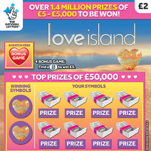 New National Lottery Scratchcards: April 2019