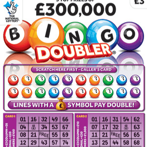 THERE'S ABOUT TO BE A SHORTAGE OF £3 SCRATCHCARDS