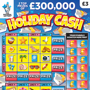New National Lottery Scratchcards: May 2019