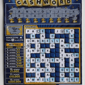 Great Gran gets called a C*** by New Triple Cashword Scratchcard