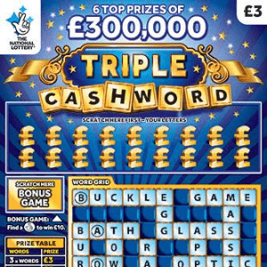 Triple Cashword Scratchcard Removed from Sale!