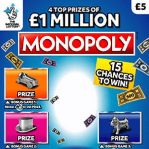 Here's the (probable) Reason the Monopoly Man has Disappeared from Scratchcards