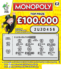 monopoly second chance scratchcard