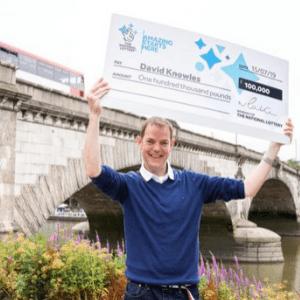 Man Wins £100,000 Scratchcard Jackpot