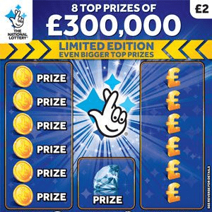 Special Edition £250,000 Birthday Scratchcard Launches