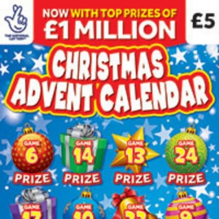 Christmas Advent Calendar Scratchcard to be Released Next Week!
