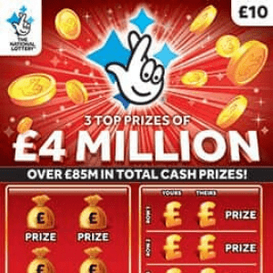 LESS THAN 2 WEEKS TO BUY £10 SCRATCHCARDS!