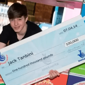 SCRATCHCARD JACKPOT WINNER LOSES IT ALL IN 5 YEARS