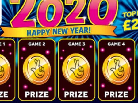 New National Lottery Scratchcards: November 2019