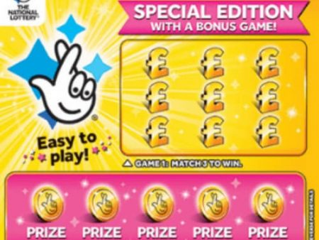 New National Lottery Scratchcards: December 2019