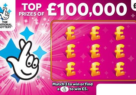 New National Lottery Scratchcards: April 2018