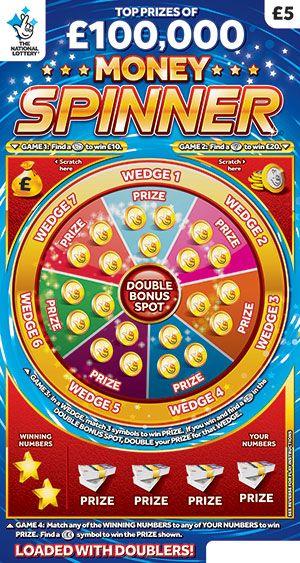 money spinner scratchcard