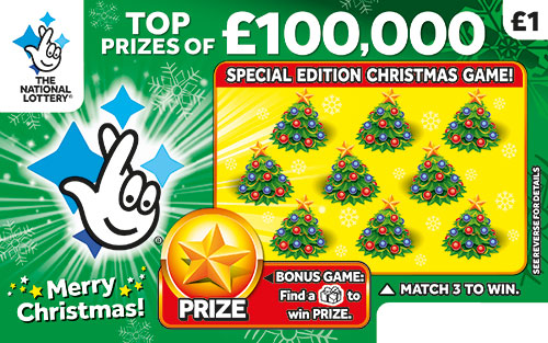 £100,000 christmas scratchcard