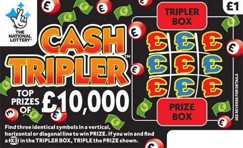 cash tripler scratchcard