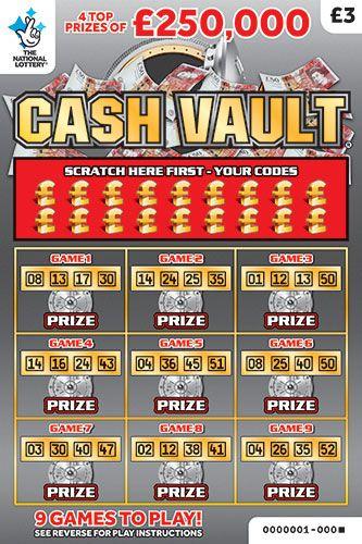 cash vault scratchcard