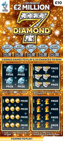 Diamond 7 Scratchcard