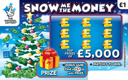 snow me the money scratchcard