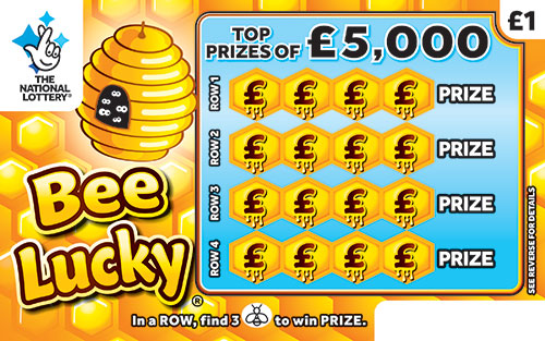 bee lucky scratchcard