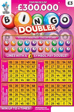 bingo doubler pink scratchcard