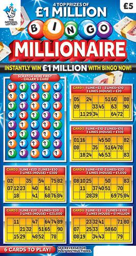 bingo millionaire 2019 scratchcard