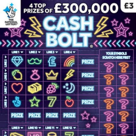 New National Lottery Scratchcards: February 2020