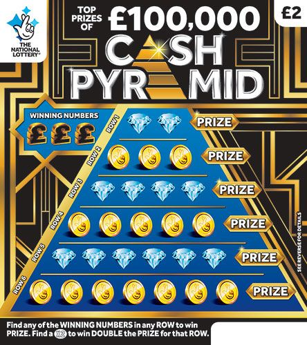 cash pyramid scratchcard