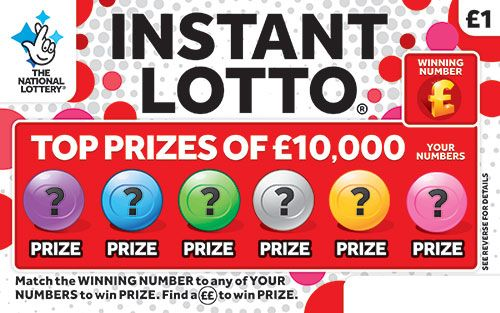 instant lotto scratchcard