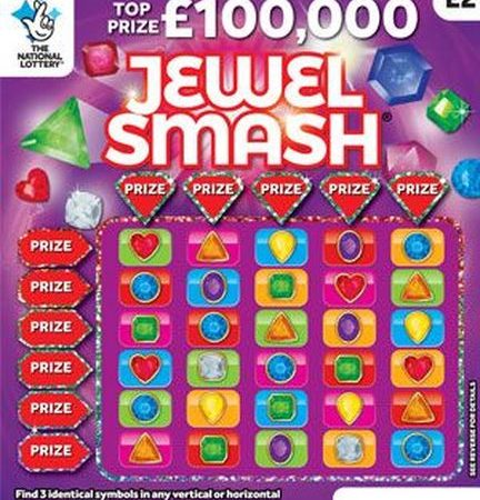 New National Lottery Scratchcards: June 2018
