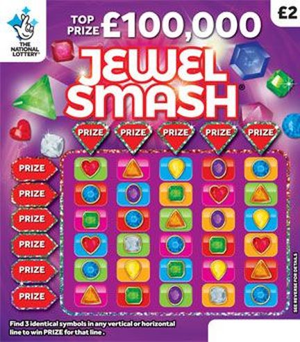 jewel smash scratchcard