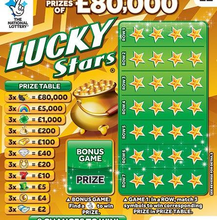 New National Lottery Scratchcards: October 2018