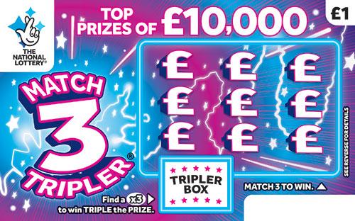 match 3 tripler 2019 scratchcard