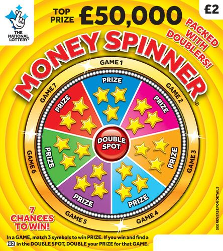 money spinner scratchcard