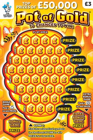 pot of gold scratchcard
