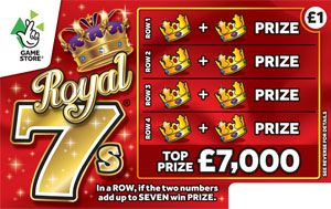 royal 7s scratchcard