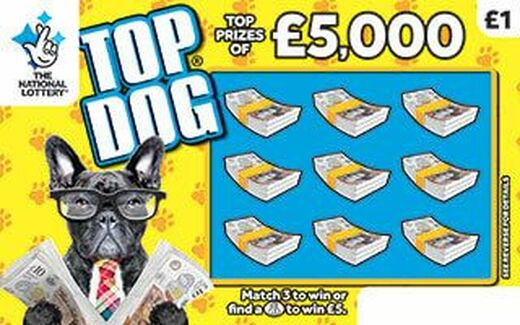 top dog scratchcard