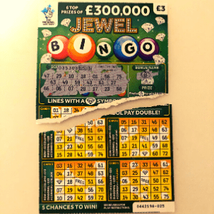 Damaged Scratchcard? Can I claim my win?