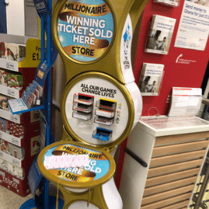 National Lottery Gold Stands