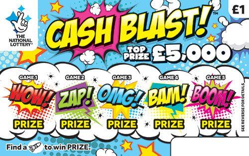 Cash Blast scratchcard