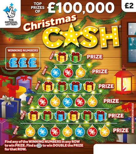 christmas cash 2019 scratchcard
