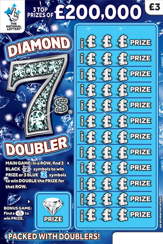 diamond 7 doubler scratchcard