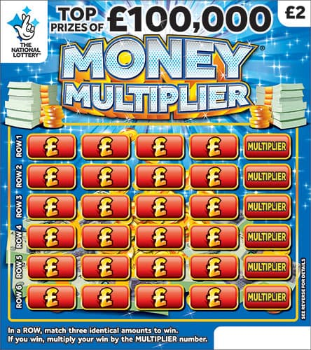 money multiplier scratchcard