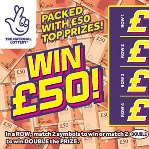 National Lottery Scratchcards: April 2020