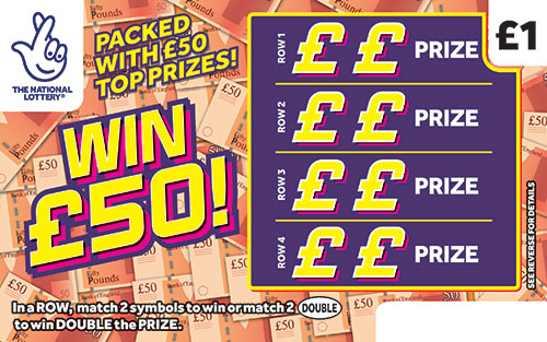 win £50 scratchcard