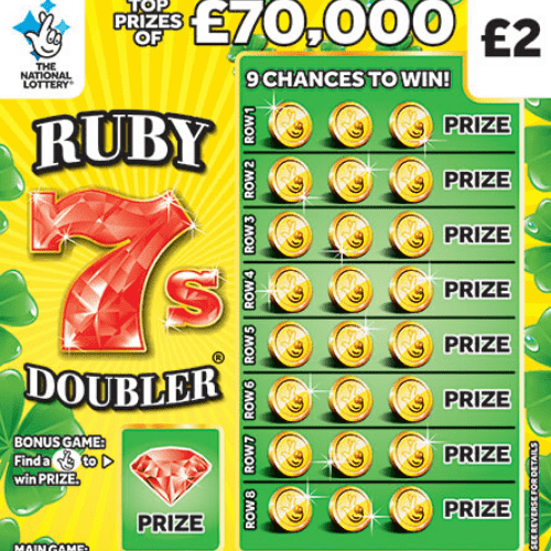 New National Lottery Scratchcards: June 2020