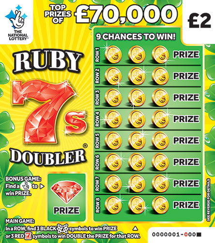 ruby 7s doubler scratchcard