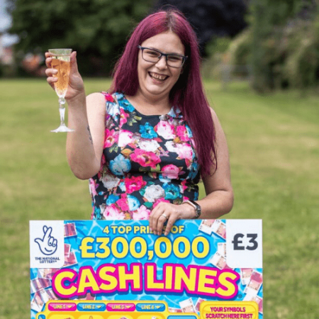 Care Worker Wins £300,000 Scratchcard Jackpot Prize