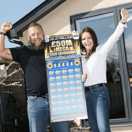 Another £50 Mega Million Cash Showdown Scratchcard Jackpot Claimed!