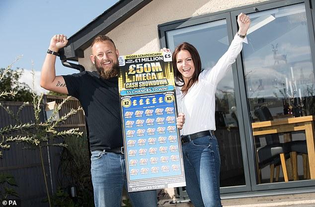 debbie goolding scratchcard jackpot winner