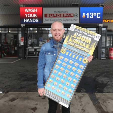 Shopkeeper Wins £1 Million… From his Own Shop